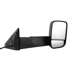 Mirror Tow Power Heated Signal Puddle Light Textured Black Right Rh For Ram Pu