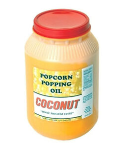 Coconut Oil For Popping One Gallon 1015 Paragon Popcorn Concession Supplies
