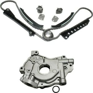 Timing Chain Kit For 97 2001 Ford F 150 99 2001 F 250 Super Duty W Oil Pump