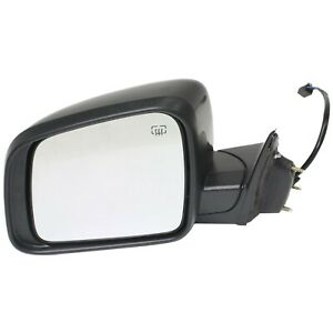 Power Mirror For 2011 2016 Jeep Grand Cherokee Driver Side Heated Paintable