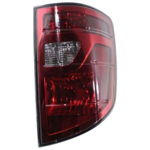 Tail Light For 2009 2011 Honda Ridgeline Passenger Side