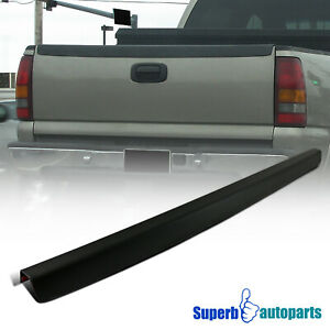 For 1999 2007 Chevy Silverado Sl Tailgate Protector Cap High Quality Abs Black