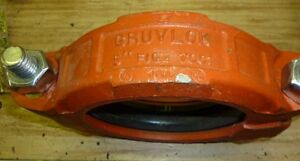 Gruvlok 7001 5 Fire Protection Pipe Coupling Lot Of 5