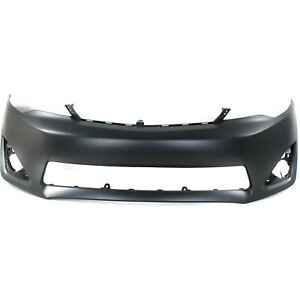 Primered Front Bumper Cover Fascia For 2012 2014 Toyota Camry Xle L E 12 14