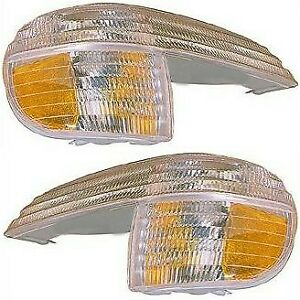 Corner Light For 95 2001 Ford Explorer Set Of 2 Left Right Side Incandescent