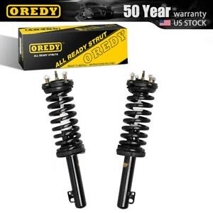 Oredy 2x Front Shocks Struts Coil Springs Fits 2006 2010 Jeep Commander