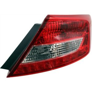 Tail Light For 2012 2013 Honda Civic Rh Coupe