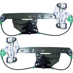 Power Window Regulator For 2000 2005 Cadillac Deville Sedan Set Of 2 Rear