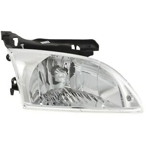 Headlight Set For 2000 2002 Chevrolet Cavalier Left And Right With Bulb 2pc