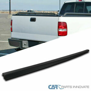 04 08 Ford F150 Styleside Black Abs Rear Tailgate Moulding Protector Cover Cap