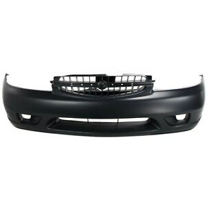 Front Bumper Cover For 2000 2001 Nissan Altima Primed