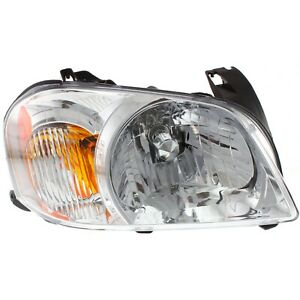 Headlight For 2005 2006 Mazda Tribute S Model Right With Bulb