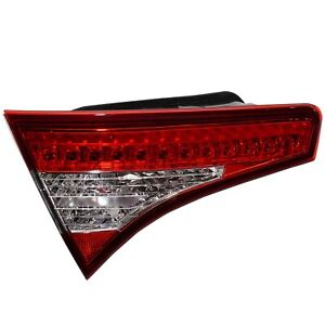 Tail Light For 11 13 Kia Optima Driver Side Inner Trunk Mounted