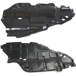 Left Right Side Engine Splash Shield For 2007 2009 Toyota Camry Set Of 2