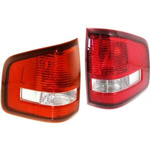 Set Of 2 Tail Light For 07 2010 Ford Explorer Sport Trac Limited Lh