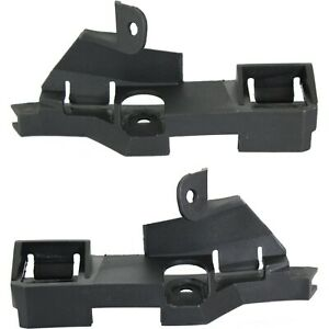 Bumper Bracket For 2002 2005 Bmw 325i 325xi Sdn wgn Guide Plastic Front Lh Rh