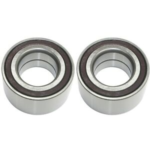 Set Of 2 Wheel Bearings Front Driver Passenger Side Lh Rh Lancer For Jeep Pair