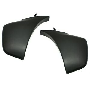 Bumper End Caps For 2012 2015 Toyota Tacoma Set Of 2 Front Textured