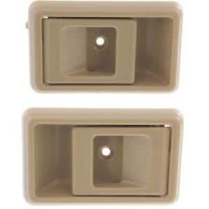Interior Door Handle For 95 2000 Toyota Tacoma 89 95 Pickup Set Of 2 Beige