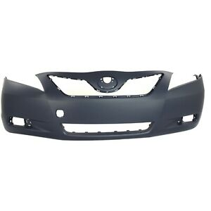 Bumper Cover For 2007 2009 Toyota Camry Japan Built Primed Front