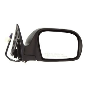Mirror Power Heated Textured Right Passenger Side For Subaru Impreza Outback Wrx