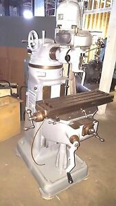 Bridgeport Milling Machine Miller Mill Clean Available In Single Phase