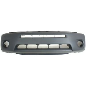 Bumper Cover For 2004 2005 Toyota Rav4 Front With Wheel Opening Flare Hole
