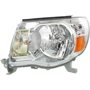 Headlight Headlamp Driver Side Left Lh For 05 11 Toyota Tacoma Pickup Truck