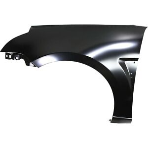Fender For 2008 2011 Ford Focus Front Lh Primed Steel W Grille Provision Capa