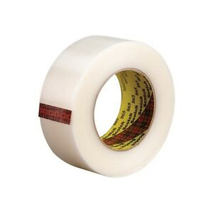 3m 865 Strapping Tape 2 x60 Yds White 24 case