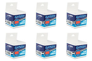 Garvey One line Pricemarker Labels 716x1316 Fluorescent Red 6 Rolls