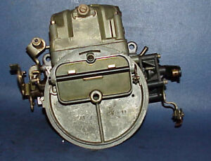 Holley 2 Barrel Carburetor L 4432 1 0259 Prototype Tripower