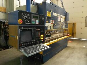 110 Ton Pullmax Optima Press Brake Fabricating Machinery