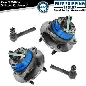 Wheel Hub Outer Tie Rod Kit Front Set Of 4 For Chevy Olds Pontiac New