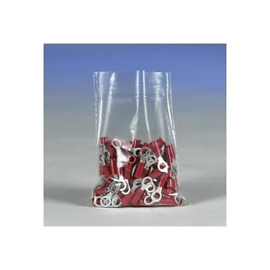 flat 3 Mil Poly Bags 8 X 16 Clear 1000 case