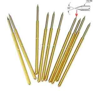 200pcs P50 b1 Dia 0 68mm Length 16mm 75g Spring Test Probe Pogo Pin