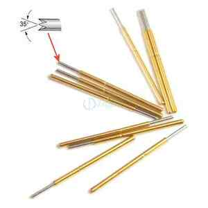 200pcs P50 q1 Dia 0 68mm Length 16mm 75g Spring Test Probe Pogo Pin