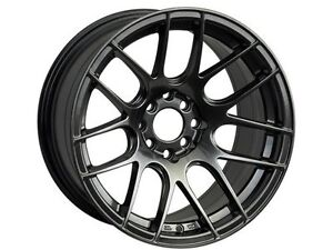 Xxr 530 16x8 Rims 4x100 114 3 20 Chromium Black Wheels set Of 4