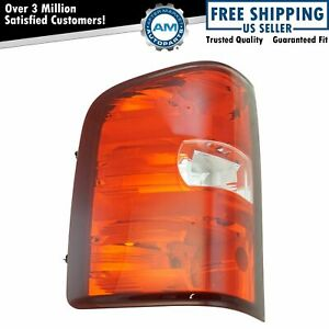 Taillight Taillamp Brake Light Driver Left Lh For Chevy Silverado Gmc Sierra