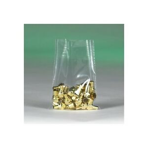 flat 2 Mil Poly Bags 18 x18 Clear 1000 case
