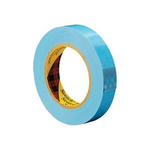 3m 8896 Strapping Tape 2 x60 Yds Blue 24 case