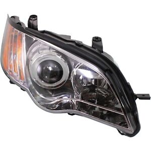 Headlight For 2008 2009 Subaru Outback Right Clear Lens With Bulb