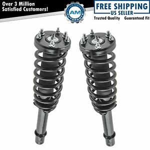 Front Complete Strut Spring Assembly Pair Driver Passenger Set For Acura Tl