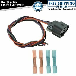 Delphi Fa10003 Fuel Pump Wiring Harness Connector Oval Plug For Chevy Gmc New