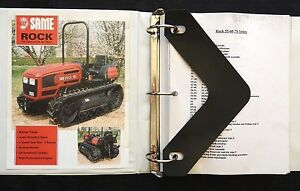 Genuine Deutz fahr Same Rock 50 60 70 Crawler Tractor Service Repair Manual More