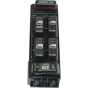Power Window Switch Front Driver Side Master For 2000 02 Chevy Gmc Truck 4 Door