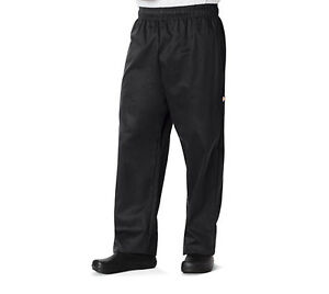 Black Dickies Chef Unisex Traditional Baggy 3 Pocket Pants Dc11 Blk