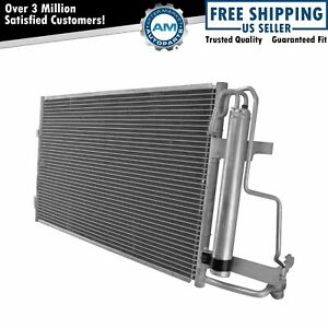 Air Conditioning Ac A c Condenser With Receiver Drier Assembly For Mazda 3 New