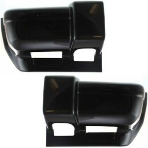 Bumper End For 98 2001 Jeep Cherokee Set Of 2 Front Primed