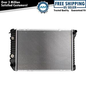 Radiator Assembly Plastic Tank Aluminum Core For Ford Lincoln Mercury Brand New